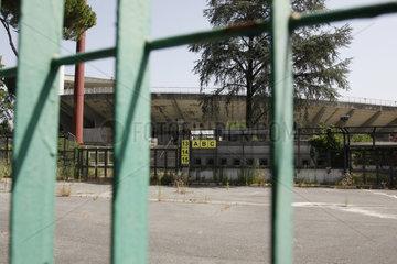 Stadio Flaminio vernachlaessigung in Rom