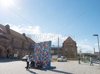 Aethiopier Giessener Graffiti Berliner Mauer