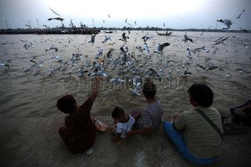 MYANMAR-YANGON-DAILY LIFE