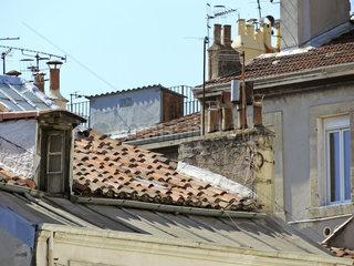 Ueber den Daechern von Marseille