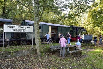 Deutschland  Nordrhein-Westfalen- Wanderweg BaldeneySteig in Essen