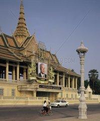 Cambodia  Phnom Penh  the Royal Palace