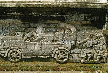 Auto-Relief Indonesien