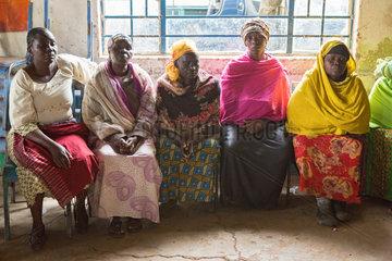 Nairobi  Kenia - Selbsthilfegruppe von Frauen im St. John's Community Center Pumwani.
