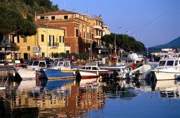 Tuscany  Elba Island  porto azzurro Tha harbour
