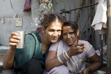 Kalkutta  Eine Hijra.