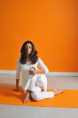 Yoga-Positionen