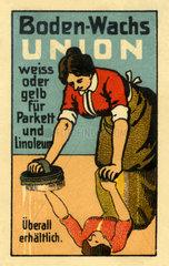 Boden-Wachs  Werbung  1913