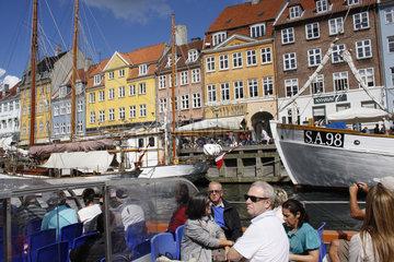 Nyhavn kanal in Kopenhagen