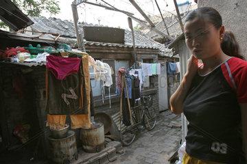 Beijing  Hutong  Alltag  Verfall