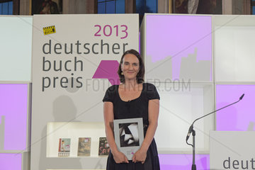 MORA  Terezia - Deutscher Buchpreis 2013