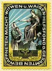 Hilfsfond fuer Kriegerwitwen und Waisen  Oesterreich  1916