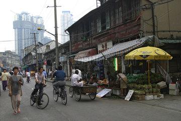 Lebensmittelgeschaeft in Shanghai