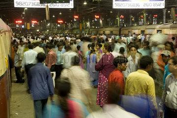 Mumbai  Bahnhof Chhatrapati Shivaji Terminus