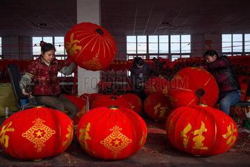 CHINA-ANHUI-HEFEI-CHINESE LANTERNS (CN)