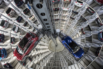 Volkswagen Car Towers