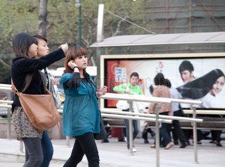 Shanghai  Jugendliche.
