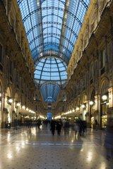 Galleria Vittorio Emanuele II   Mailand  Lombardei  Italien  Europa