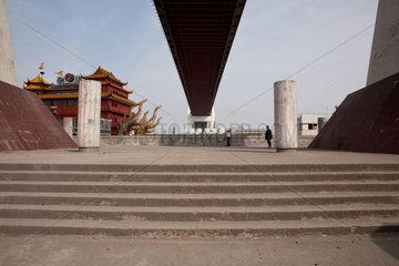 Shanghai  Nanpu Bruecke.