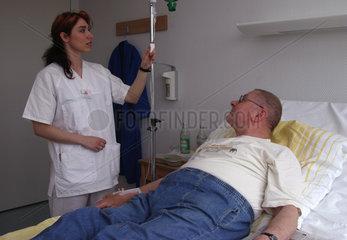 Krankenhaus Pflege