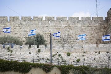 Nationalflagge Israel