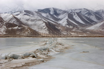 Karakulsee zwischen Kashgar und Tashkorgan | Karakul lake among Kashgar and Tashkorgan