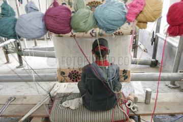 Tibetan weaving company
