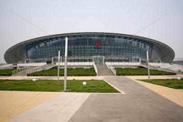 Peking  Sporthalle der UNI fuer Wissenschaft und Technologie