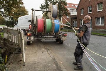 Die Glasfaser kommt ins Dorf!
