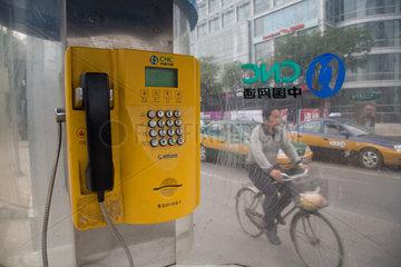 Beijing  Telefonzelle