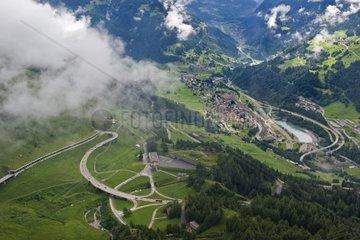 Switzerland  Canton Ticino  Gotthard pass