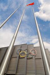 Ringkampf-Austragungsort (Stadion) Peking