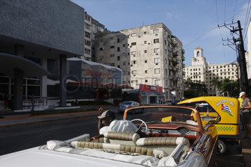Oldtimer in Havanna Vedado