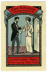Massschneiderei  Werbung  1912