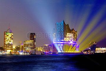 Hamburg  Elbphilharmonie.Eroeffnung am 11.01.2017