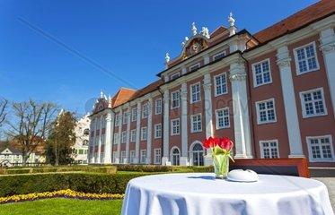 Blick auf das Schloss in Meersburg