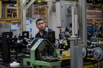 Beijing  Production of Mercedes-Benz C-Class.