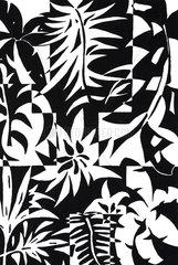 Plakatives Blumenmuster