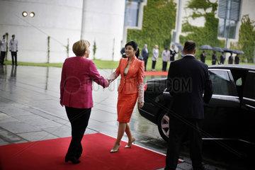 Merkel meets Shinawatra