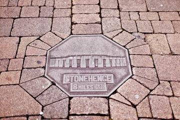Stonehenge Pflasterstein