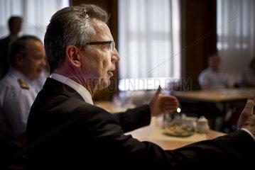 German Defense Minister Thomas de Maizière