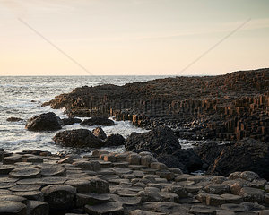 Abends am Giant's Causeway