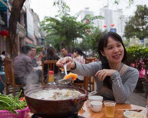 Sanya  restaurant  hot pot