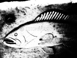Fischskulptur