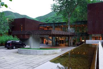 Peking  Kempinski Hotel Badaling Great Wall.