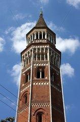 Italy  Lombardy  Milan  San Gottardo in Corte Church  Belfry