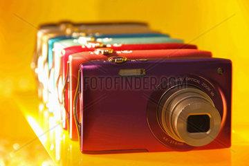 kleine  digitale Kameras