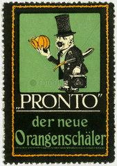 Pronto  Orangenschaeler  1910