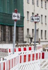 Verkehrszeichen fuer Fussgaenger