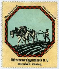 Muenchener Eggenfabrik  Werbung  1912